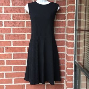 Apt 9 Black ribbed dress